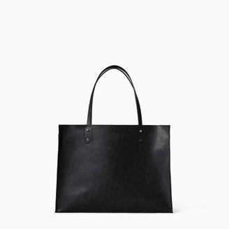 Zara Soft Shopper Bag