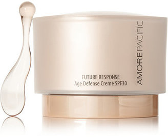 Amore Pacific - Spf30 Future Response Age Defense Creme, 50ml - Colorless $195 thestylecure.com