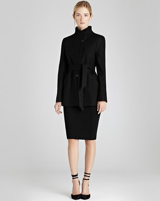 Reiss Funnel Coat - Josephina with Insets