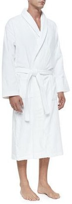 Derek Rose Terry Cloth Robe, White $210 thestylecure.com