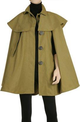 Max Studio Caped Raincoat