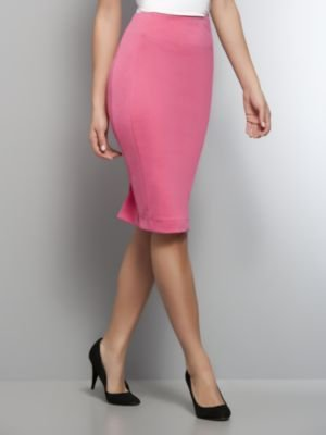 New York & Co. Pink Pencil Skirt