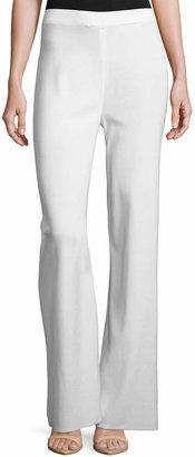 Misook Plus Size Washable Wide-Leg Pants