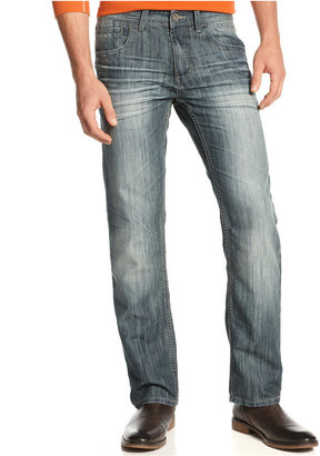 INC International Concepts Jeans, Mynx Slim Straight Jeans