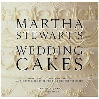 JCPenney Martha Stewart's Wedding Cakes