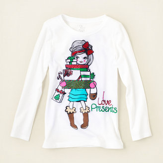 Children's Place Gift girl graphic tee