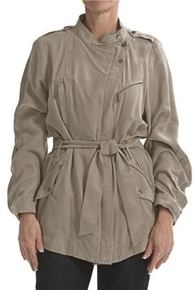 Cole Haan @Model.CurrentBrand.Name Outerwear Drapey Rain Trench Coat (For Women)