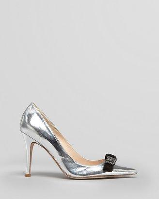 LK Bennett L.K.Bennett Pointed Toe Evening Pumps - Gloria High Heel