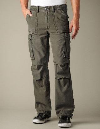 True Religion Mens Anthony Brushed Twill Cargo Pants