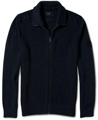 GUESS Sweater, Hamilton Mock Zip