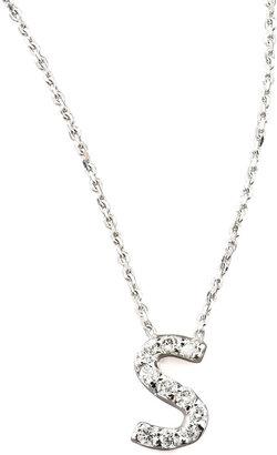KC Designs Diamond Letter Necklace, S