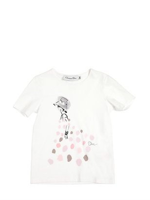 Christian Dior Mannequin Printed Jersey T-Shirt