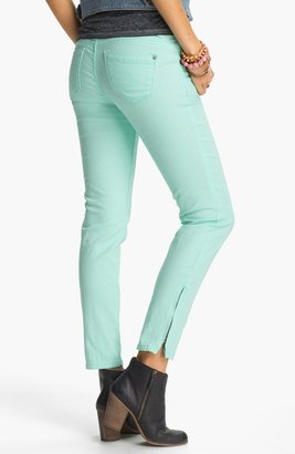 Jolt Ankle Zip Skinny Jeans (Juniors)
