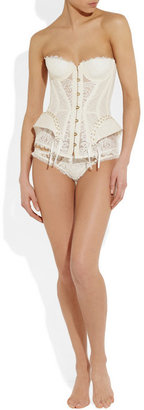 Agent Provocateur Raphaella lace and tulle corset