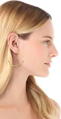 Gorjana Arc Large Hoop Earrings