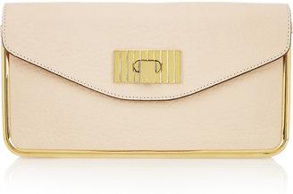 Chloé Sally leather clutch