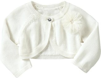 Old Navy Cropped Rosette Cardis for Baby