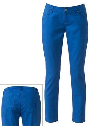 Apt. 9 modern fit color skinny jeans
