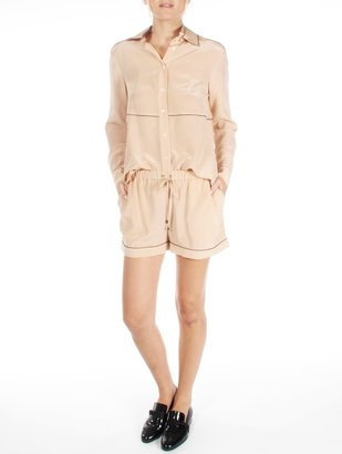 Derek Lam 10 Crosby Drawstring Short