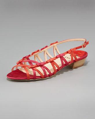 O Jour Bow Flat Sandal