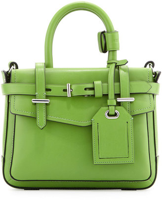 Reed Krakoff Boxer Micro Tote Bag, Green