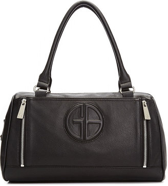 Bernini Giani Handbag, Collection Embossed Leather Zip Satchel