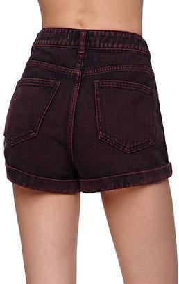 Bullhead Denim Co Perfect Plum Mom Shorts