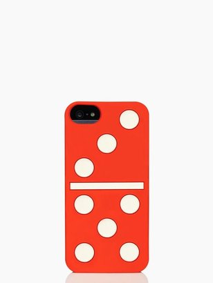 Kate Spade Dominos silicone iphone 5 case