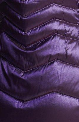 Bernardo Iridescent Packable Goose Down Jacket