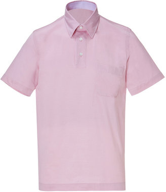 Brioni Fine Cotton Jersey Polo Shirt