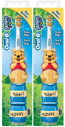 Oral-B Power Toothbrush - My Friends Tigger & Pooh - 2 pk