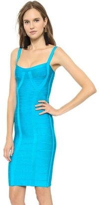 Herve Leger Judith Sheath Dress