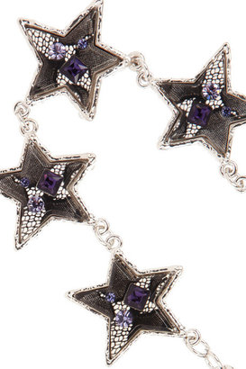 Marc by Marc Jacobs Twinkle silver-tone star necklace