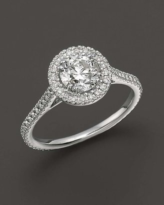Diamond Engagement Ring 18 Kt. White Gold, 1.25 ct. t.w. - 100% Exclusive $8,750 thestylecure.com