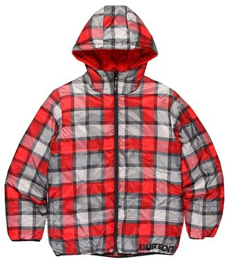 Burton Boys' Clone Insulator Jacket (Little Kids/Big Kids) (Burn Revolt Plaid) - Apparel