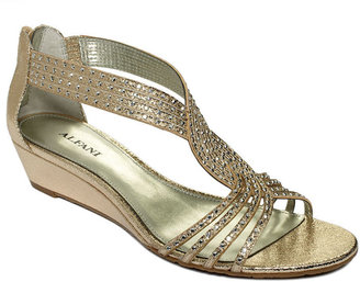 Alfani Women's Shoes, Genesis Wedge Sandals