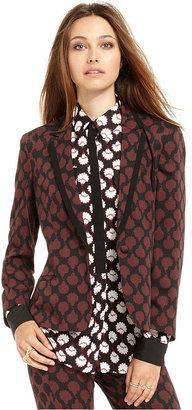 Rachel Roy Jacket, Printed Blazer