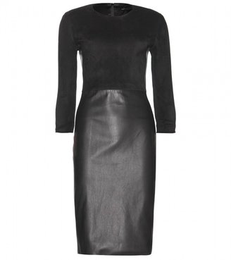 The Row Frehnah leather dress
