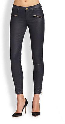 Current/Elliott Coated Soho Stiletto Jeans