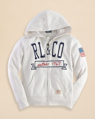 Ralph Lauren Boys' Fleece Hoodie - Sizes S-XL