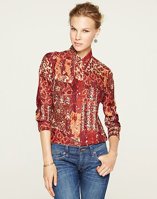 Lucky Brand Joan Patchwork Blouse*