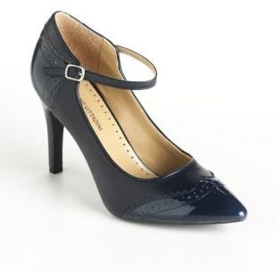 Adrienne Vittadini Leather Canfield Pumps