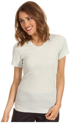 Calvin Klein Jeans Open Crew Neck S/S Tee (Glacee Mint) - Apparel