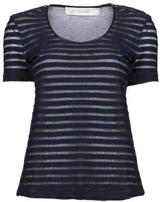 Yigal Azrouel Tech stripe shirt