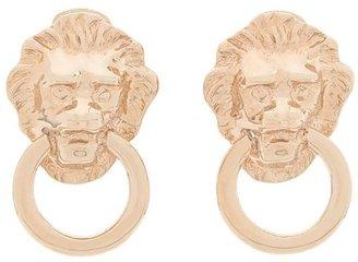 Susan Caplan Vintage 1990s Vintage Kenneth Jay Lane Door Knocker Clip-on Earrings
