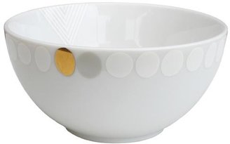 Ink Dish White Noise Cereal Bowl