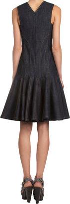 Derek Lam Sleeveless Peplum Dress