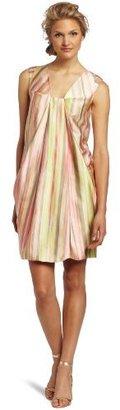 Anne Klein Women's Painted Stripe Print Dress