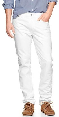 Gap 1969 Slim Fit Jeans (White Wash)