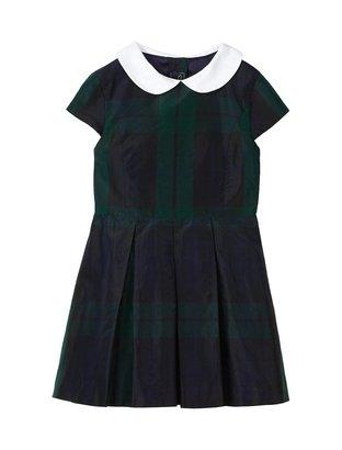 Oscar de la Renta Girls' Cap Sleeve Party Dress